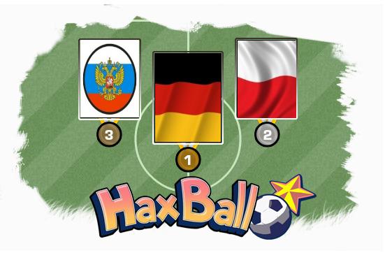 Víťazné krajiny 1. HaxBall Country Championship
